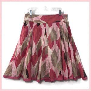 Apt.9 Paneled Crushed Look Skirt